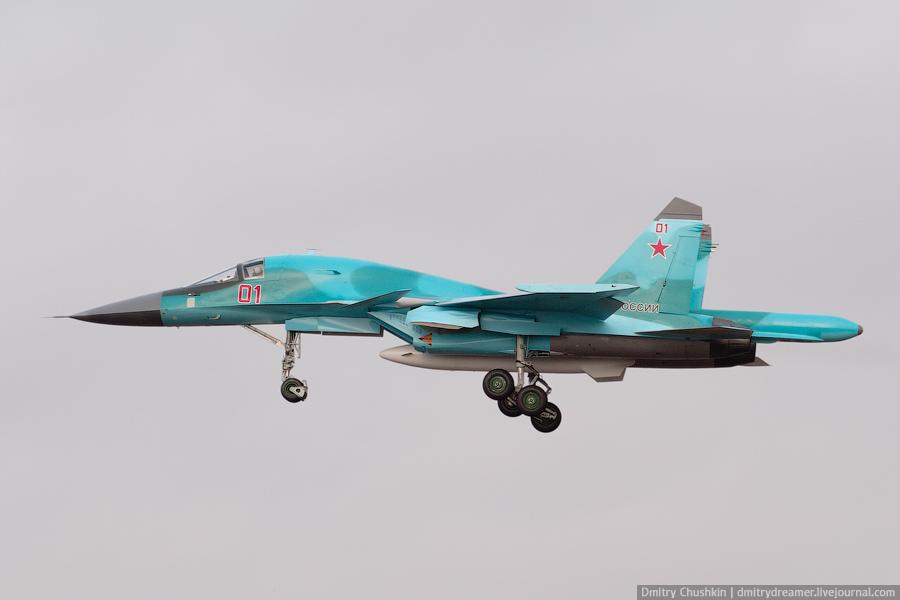 бомбардировщиков Су-34 в