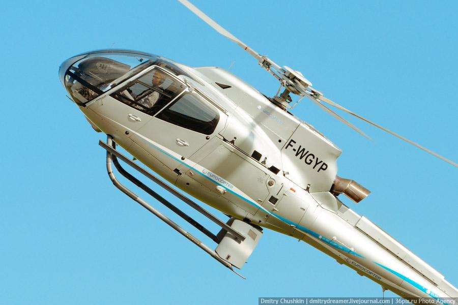 В Воронеже открылся вертолетный клуб